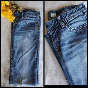 Silver Jean's 26x33 Tuesday Straight leg jeans
